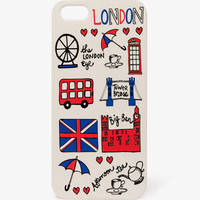 London Graphic Phone Case