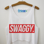 Swaggy (With a Y) Crop Top | fresh-tops.com