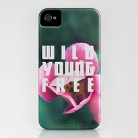 Wild Young Free iPhone & iPod Case by Leah Flores Designs