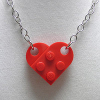 LEGO (R) Heart Necklace