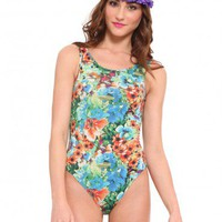 Flower Power Bodysuit - Clothes | GYPSY WARRIOR