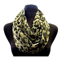 Brown Leopard Scarf | Studio 706 Boutique