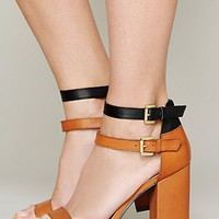 Free People Gin Double Strap Heel