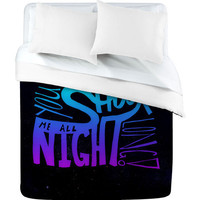 DENY Designs Home Accessories | Leah Flores All Night Long Duvet Cover