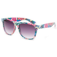 Full Tilt Floral Classic Sunglasses Multi One Size For Women 21449095701