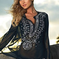 Luxurious Silk And Sequin Tunic from VENUS