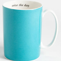 kate spade new york &#x27;say the word - seize the day&#x27; porcelain mug | Nordstrom
