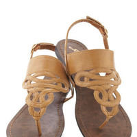 Drizzle Castle Sandal in Tan | Mod Retro Vintage Sandals | ModCloth.com