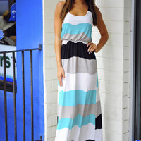 Time Of Our Lives Maxi Dress: Multi Stripes | Hope&#x27;s