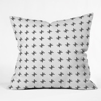 DENY Designs Home Accessories | Wesley Bird Cross Out White Throw Pillow