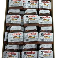 Nutella Hazelnut Chocolate Spread 96 Count: Grocery & Gourmet Food