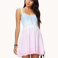 Ombr Eyelet Dress | FOREVER 21 - 2036515303