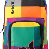 Hurley Girls Sync Colorful Laptop Backpack