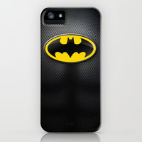 DC Comics Series - Batman Suit iPhone & iPod Case by RobozCapoz