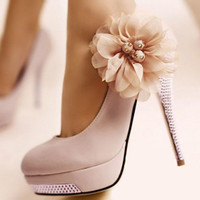 Pink Anthea Heels
