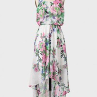 lydia floral high-low dress at ShopRuche.com