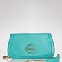 Tory Burch Clutch - Amanda Logo | Bloomingdale&#x27;s