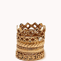 Baroque Ring Set | FOREVER 21 - 1056876338