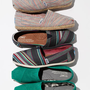 TOMS 'Classic - Stripe' Denim Slip-On (Women) | Nordstrom