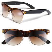 Icon Eyewear &#x27;Gloria&#x27; Retro Half Wire Frame Sunglasses | Nordstrom