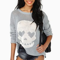 Skull Crusher Knit - Gray