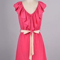 Pretty Pink Bow Dress