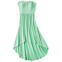 Xhilaration® Juniors Strapless High Low Dress - Assorted Colors