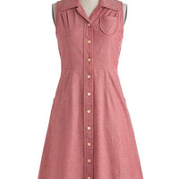 Crafty Classroom Dress | Mod Retro Vintage Dresses | ModCloth.com