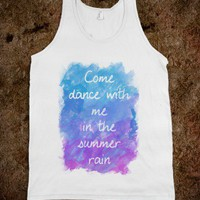 Come dance with me in the summer rain - Miss Holly Golightly&#x27;s - Skreened T-shirts, Organic Shirts, Hoodies, Kids Tees, Baby One-Pieces and Tote Bags
