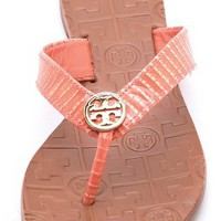Tory Burch Thora Lizard Print Sandals | SHOPBOP