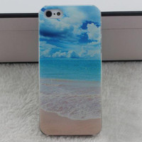 Blue Blue Sky Ocean Case for iPhone