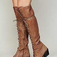 Jeffrey Campbell Womens Joe Lace Up Boot -