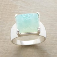 CHISELED CHALCEDONY RING         -                  Gemstone         -                  Rings         -                  Jewelry                       | Robert Redford's Sundance Catalog