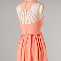 Starburst Back Dress