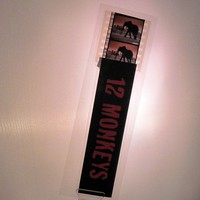12 Monkeys Recycled Film Bookmark