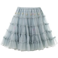 Golden Goose Deluxe Brand Tiered Silk Chiffon Skirt - Women - All