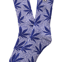 HUF The HUF x Snoop Plantlife Socks in Navy Heather