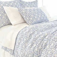 Pine Cone Hill Veena Blue Duvet Cover
