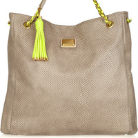 Marc by Marc Jacobs | Erika snakeskin-embossed leather bag | NET-A-PORTER.COM