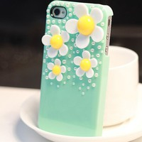 Daisy Sunflower iPhone4/4S Case for Summer