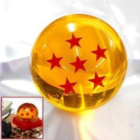 Amazon.com: Acrylic Dragonball Replica Ball (Large/6 Stars): Toys & Games