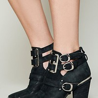 Free People Lindi Buckle Back Boot