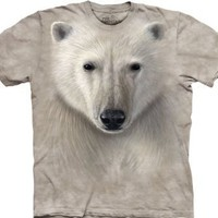 Polar Bear Warrior The Mountain Tee Shirt Adult M-XXXL SIZE: XXX Large