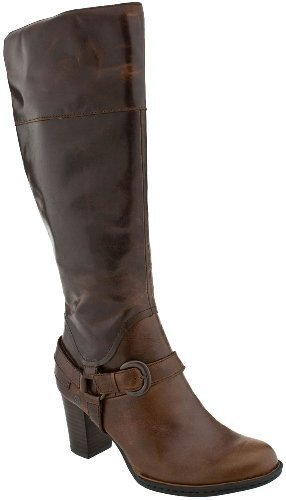 BORN Brittney Boots Knee Shoes Brown Womens