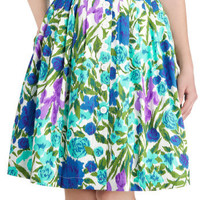 Emily and Fin Steeping Willow Skirt | Mod Retro Vintage Skirts | ModCloth.com