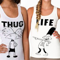 Thug Life - Hey Arnold! | Bff Tanks             ON SALE