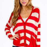 Keep It In Line Cardigan $40
