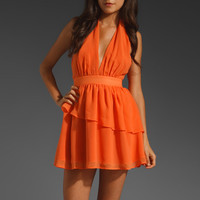 keepsake Blame Game Dress in Mandarin from REVOLVEclothing.com