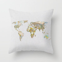 NEW ORDER Throw Pillow by Bianca Green
