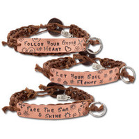 NEW! Heart Speak Bracelets: Soul-Flower Online Store